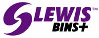 LEWISBins+ Logo in Color (4C)